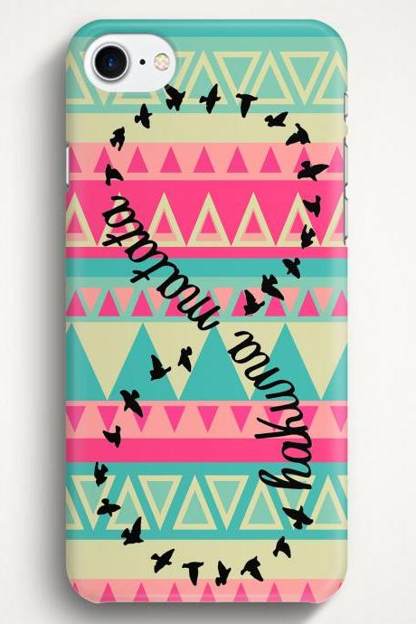 Hakuna Matata Aztec Case For iPhone 7 iPhone 7 Plus Samsung Galaxy S8 Galaxy S7 Galaxy A3 Galaxy A5 Galaxy A7 LG G6 LG G5 HTC 10