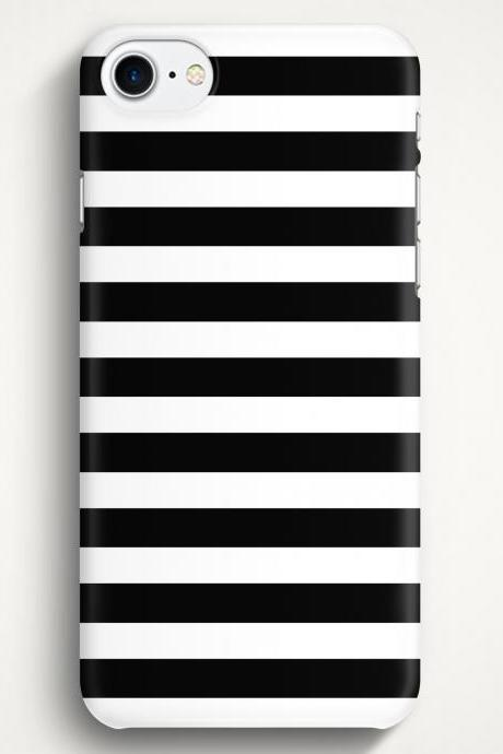 Black Stripes Case For iPhone 7 iPhone 7 Plus Samsung Galaxy S8 Galaxy S7 Galaxy A3 Galaxy A5 Galaxy A7 LG G6 LG G5 HTC 10